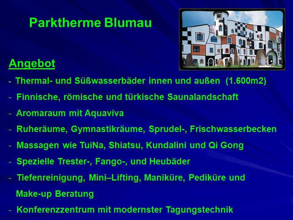Parktherme Blumau Angebot