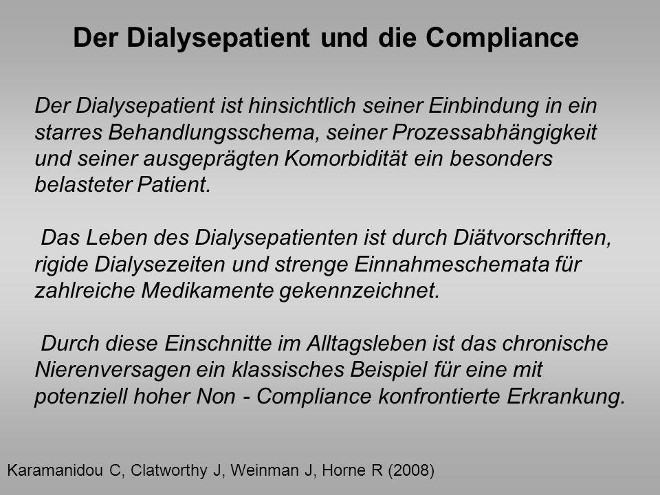 Der Dialysepatient und die Compliance