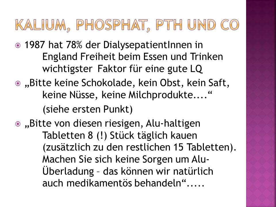 Kalium, Phosphat, PTH und Co