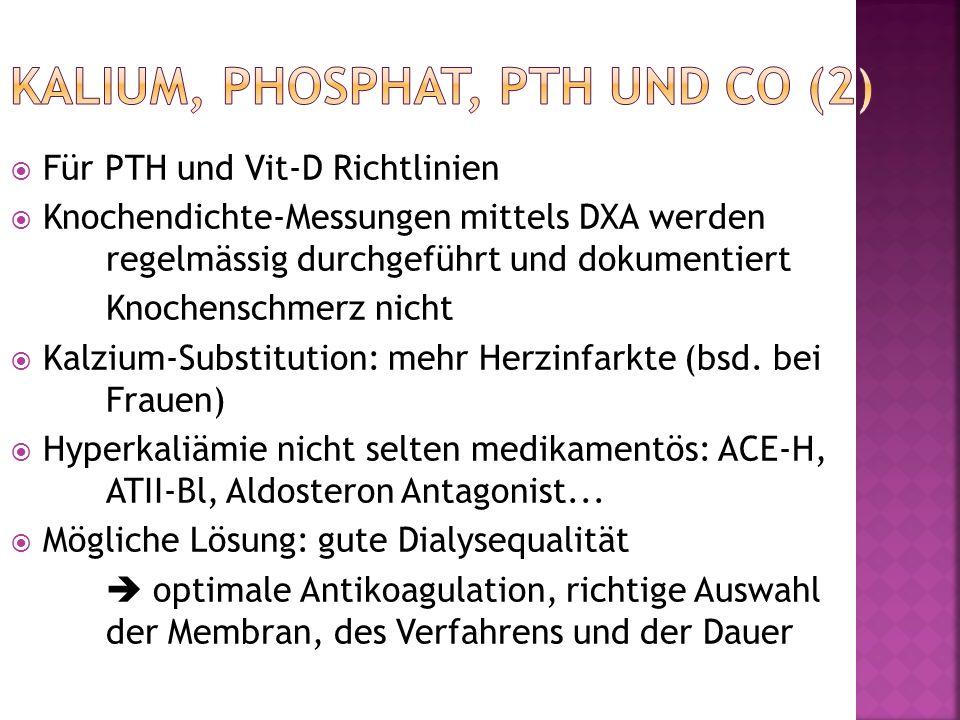Kalium, Phosphat, PTH und Co (2)