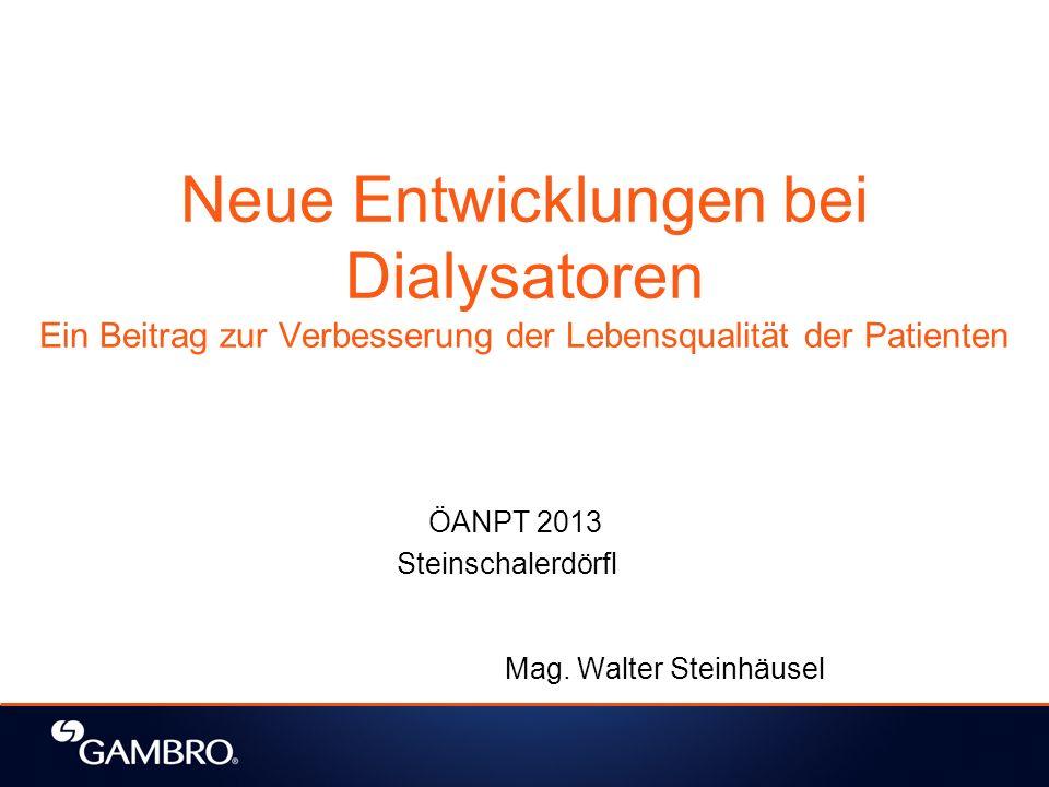 ÖANPT 2013 Steinschalerdörfl Mag. Walter Steinhäusel