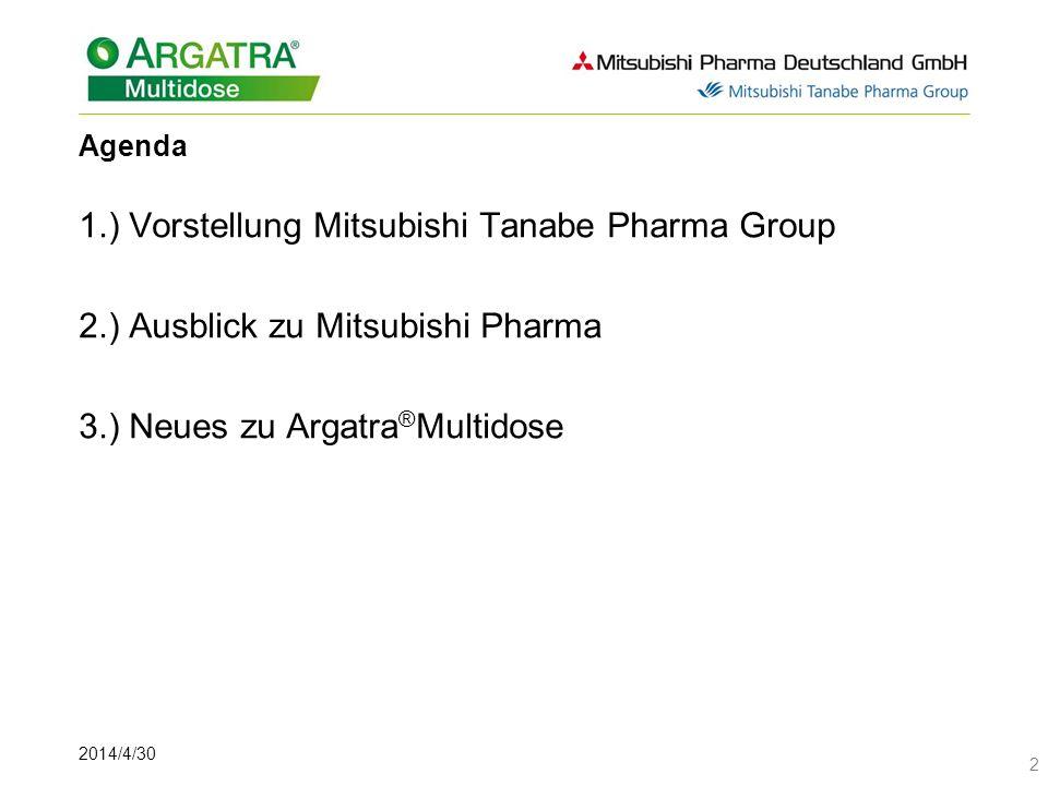 1.) Vorstellung Mitsubishi Tanabe Pharma Group