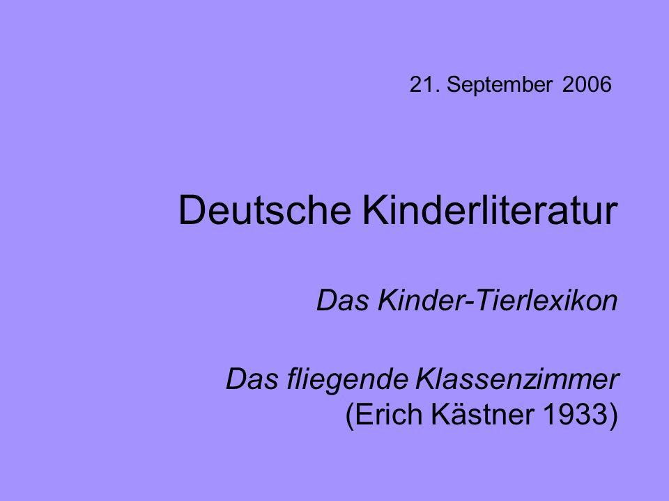 Deutsche Kinderliteratur