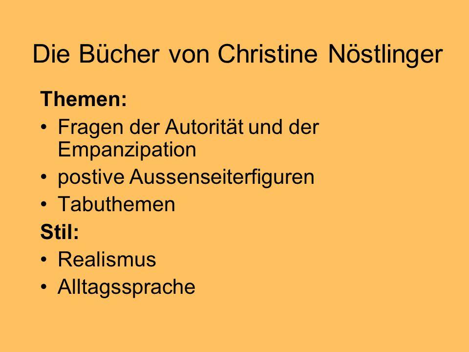 Die Bücher von Christine Nöstlinger