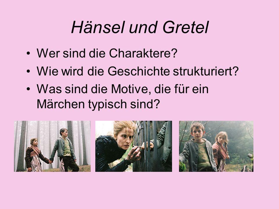 Hänsel und Gretel Wer sind die Charaktere