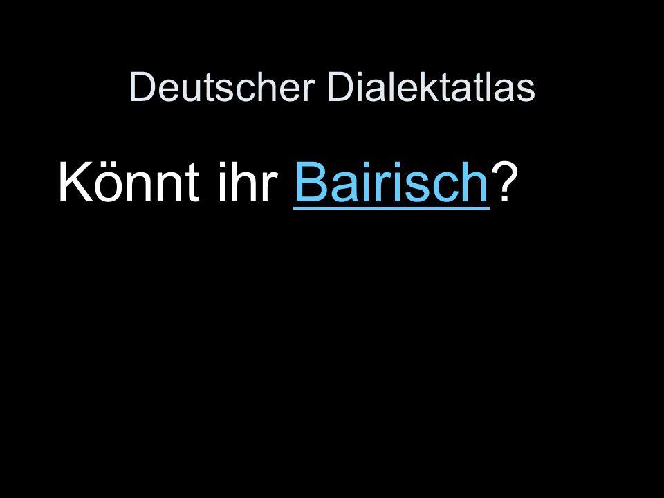Deutscher Dialektatlas