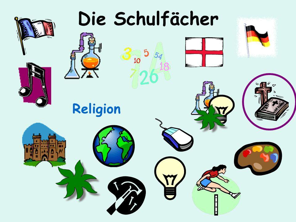 Die Schulfächer Religion