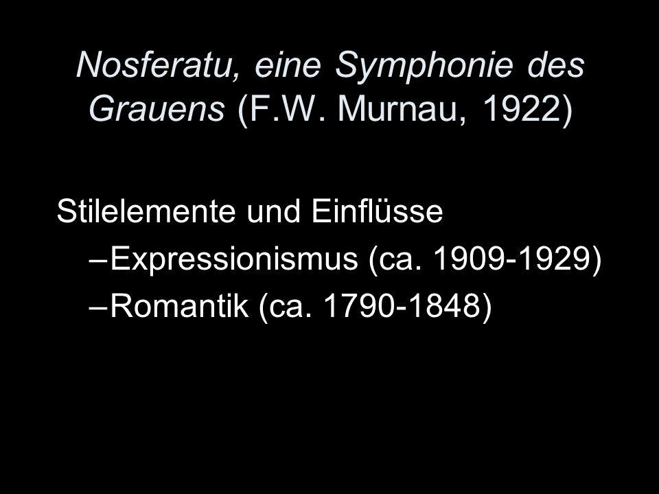 Nosferatu, eine Symphonie des Grauens (F.W. Murnau, 1922)