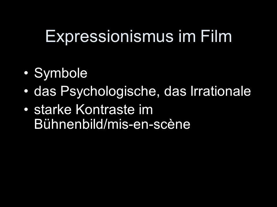 Expressionismus im Film