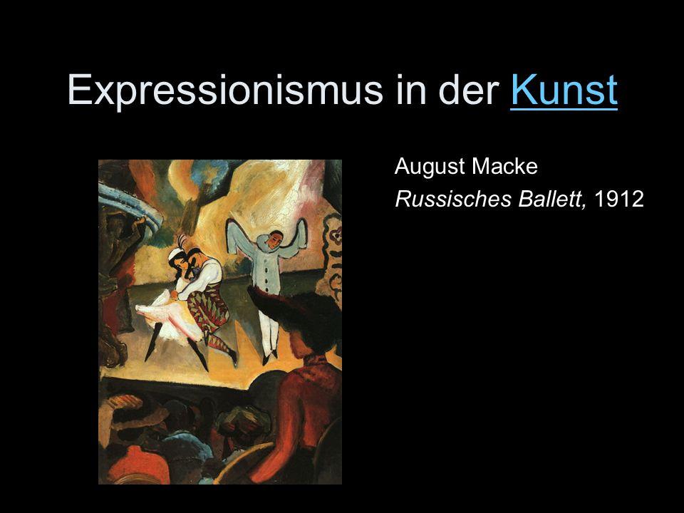 Expressionismus in der Kunst