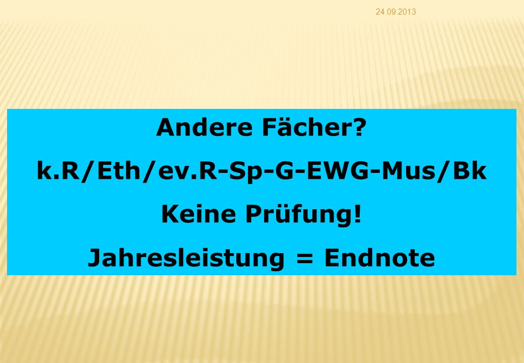 k.R/Eth/ev.R-Sp-G-EWG-Mus/Bk Jahresleistung = Endnote