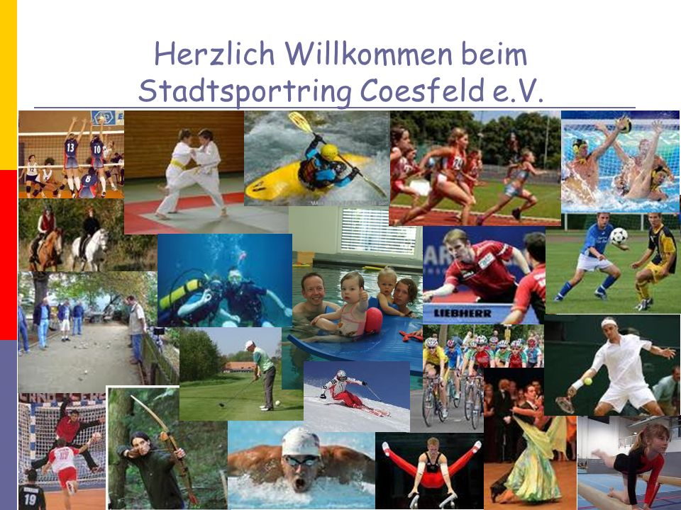 Herzlich Willkommen beim Stadtsportring Coesfeld e.V.