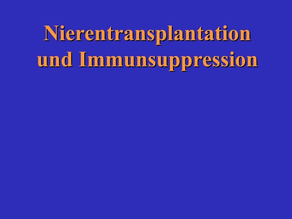 Nierentransplantation und Immunsuppression