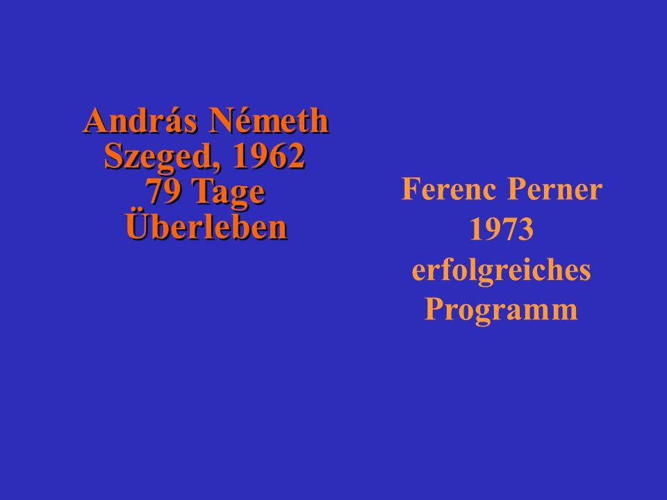 Ferenc Perner 1973 erfolgreiches Programm