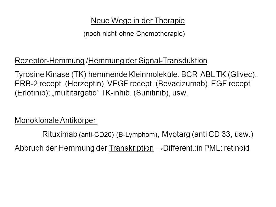 Neue Wege in der Therapie
