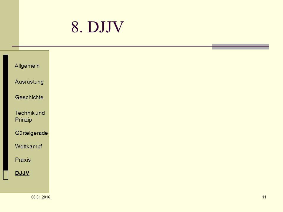8. DJJV Allgemein Ausrüstung Geschichte Technik und Prinzip