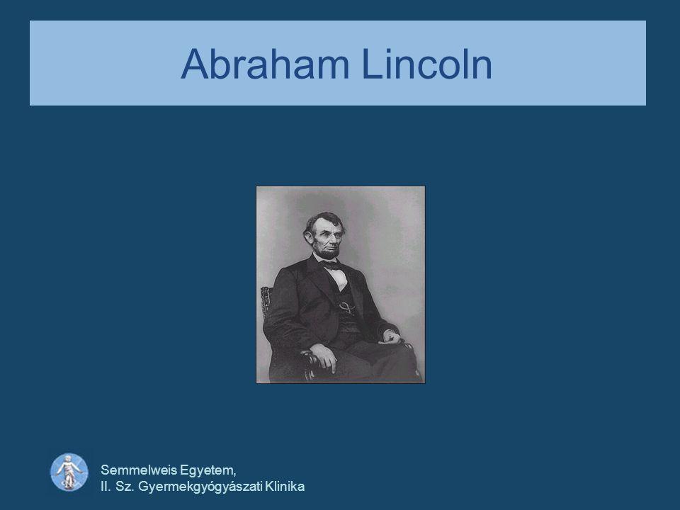 Abraham Lincoln Semmelweis Egyetem, II. Sz. Gyermekgyógyászati Klinika