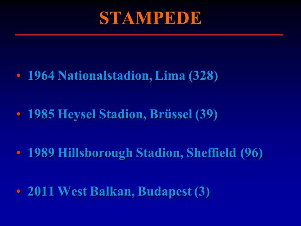 STAMPEDE 1964 Nationalstadion, Lima (328)