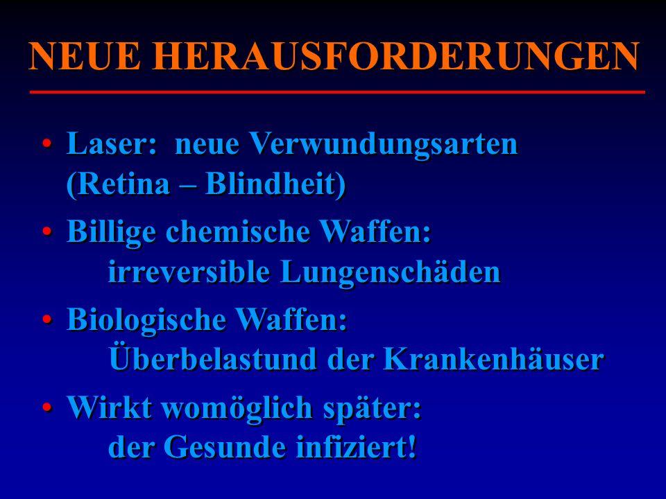 NEUE HERAUSFORDERUNGEN