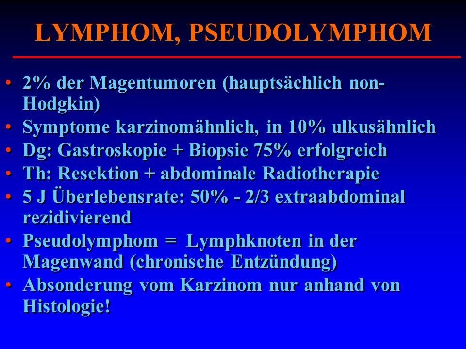 LYMPHOM, PSEUDOLYMPHOM