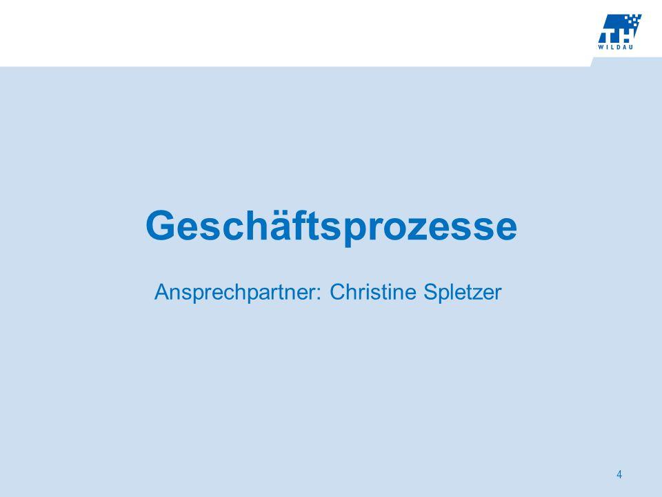 Ansprechpartner: Christine Spletzer