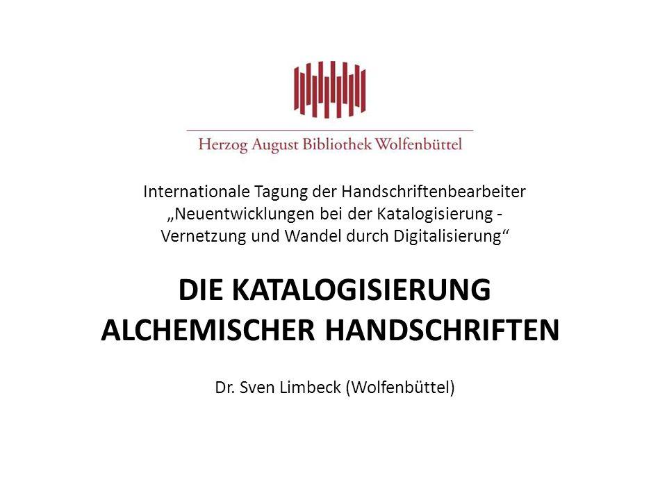 alchemischer Handschriften