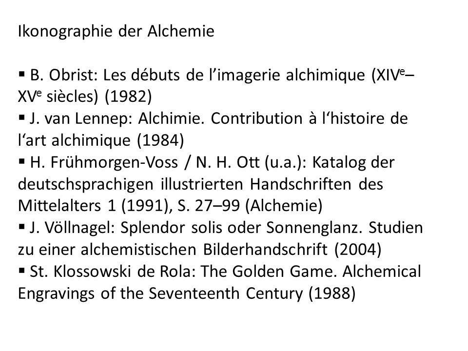 Ikonographie der Alchemie