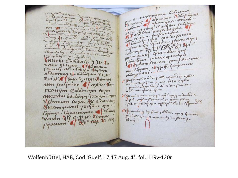 Wolfenbüttel, HAB, Cod. Guelf. 17.17 Aug. 4°, fol. 119v-120r
