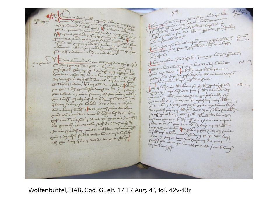 Wolfenbüttel, HAB, Cod. Guelf. 17.17 Aug. 4°, fol. 42v-43r