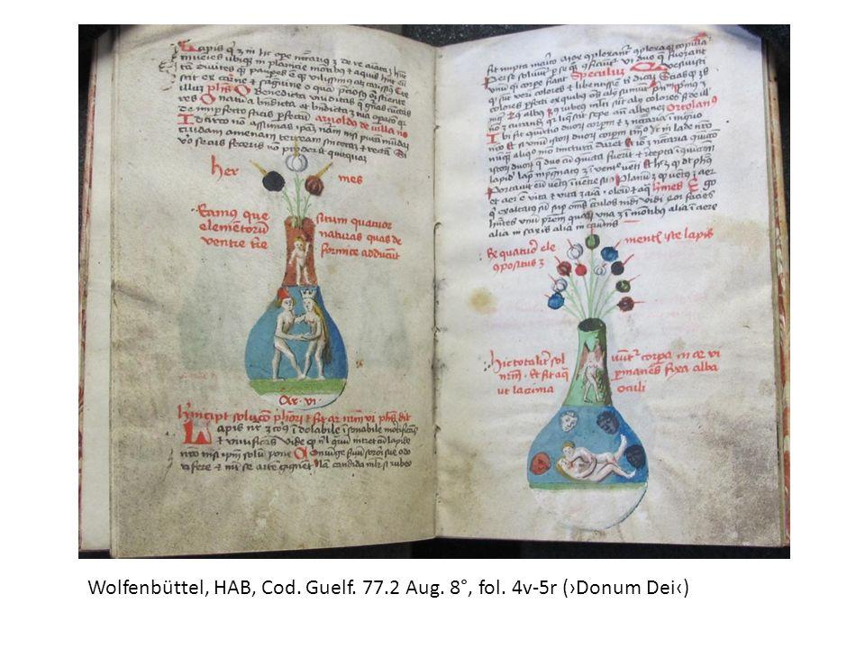 Wolfenbüttel, HAB, Cod. Guelf. 77.2 Aug. 8°, fol. 4v-5r (›Donum Dei‹)