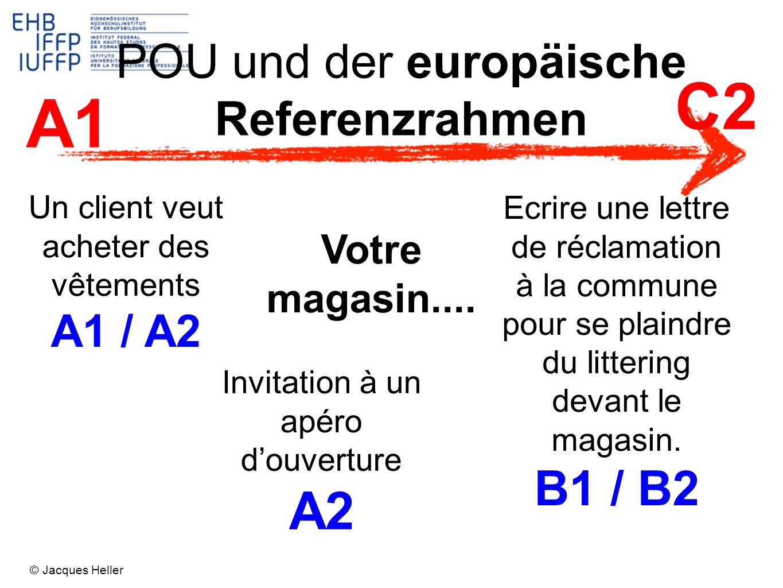 POU und der europäische Referenzrahmen