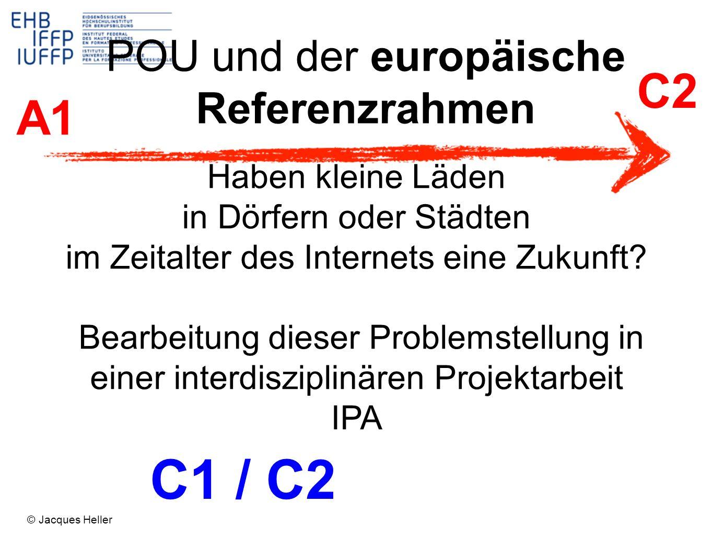 C1 / C2 C2 A1 POU und der europäische Referenzrahmen