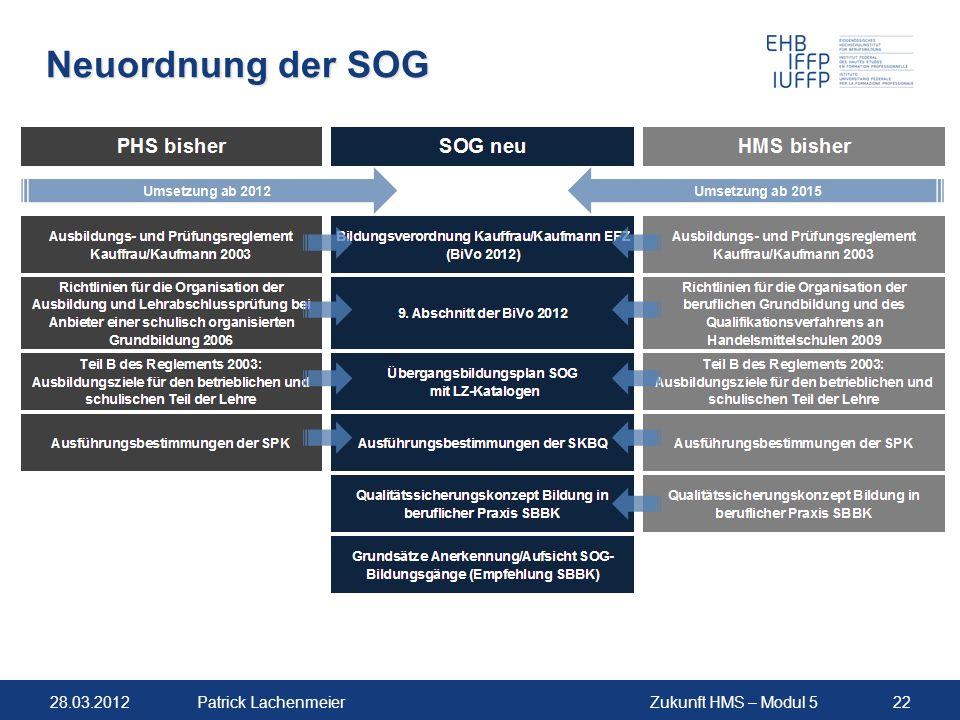Neuordnung der SOG