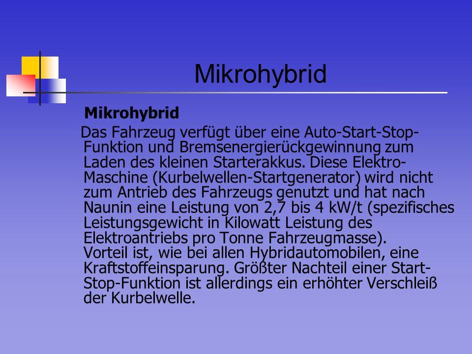 Mikrohybrid Mikrohybrid