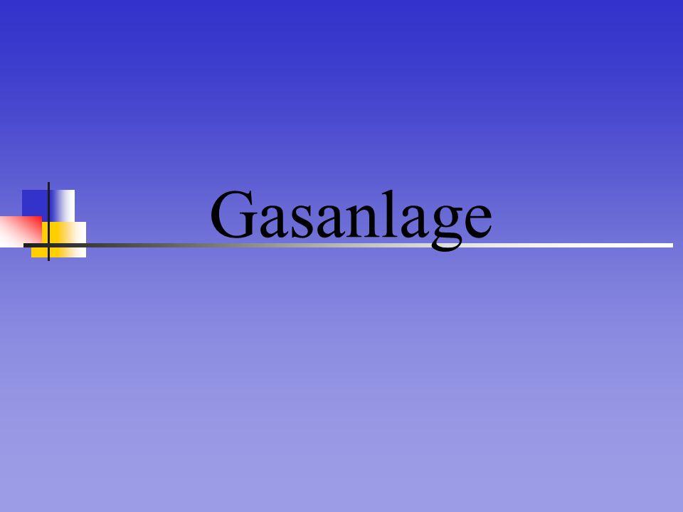 Gasanlage