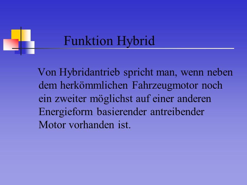 Funktion Hybrid