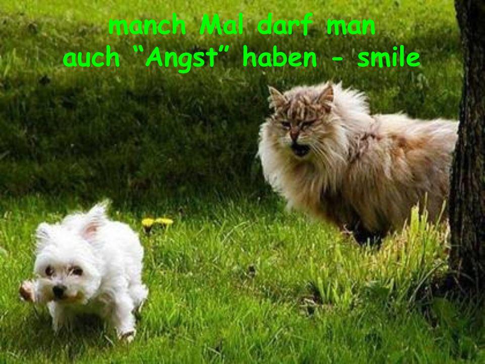 auch Angst haben - smile