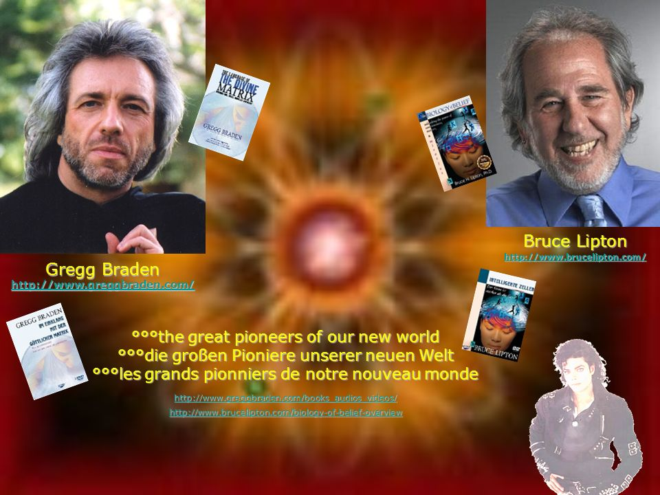 Bruce Lipton Gregg Braden °°°the great pioneers of our new world