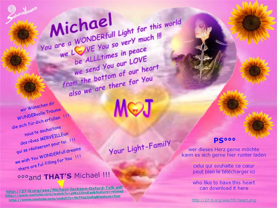 PS°°° °°°and THAT'S Michael !!!