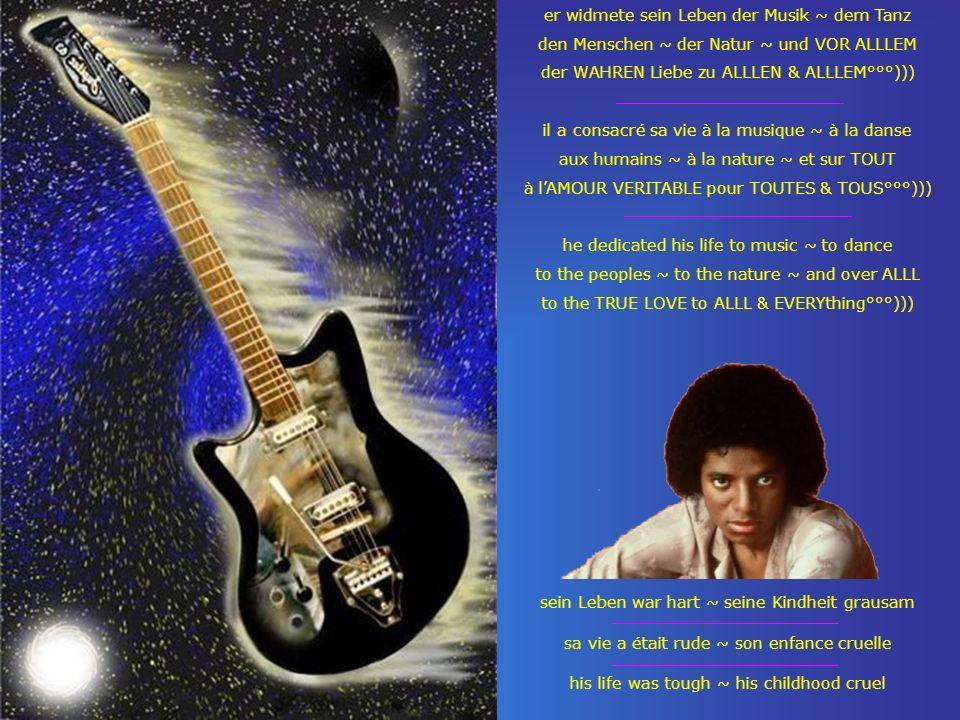 er widmete sein Leben der Musik ~ dem Tanz