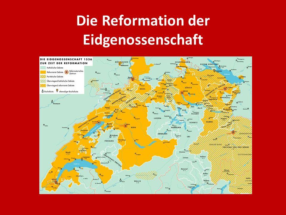 Die Reformation der Eidgenossenschaft