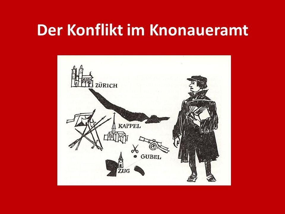 Der Konflikt im Knonaueramt