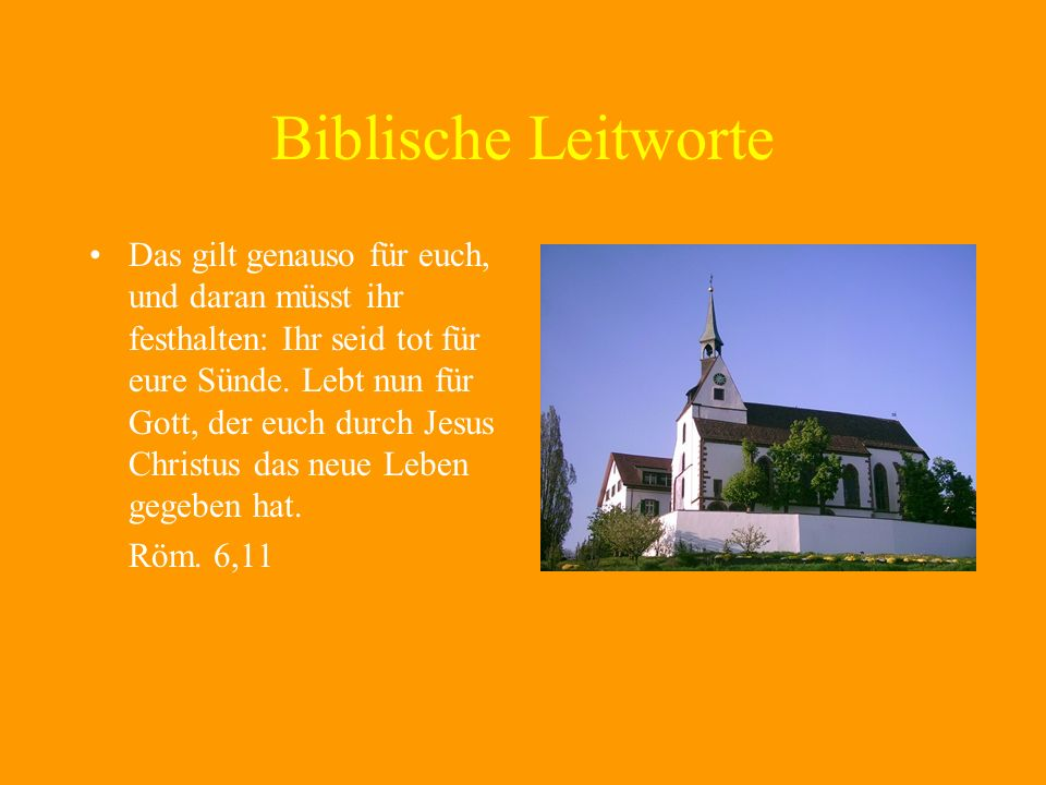 Biblische Leitworte