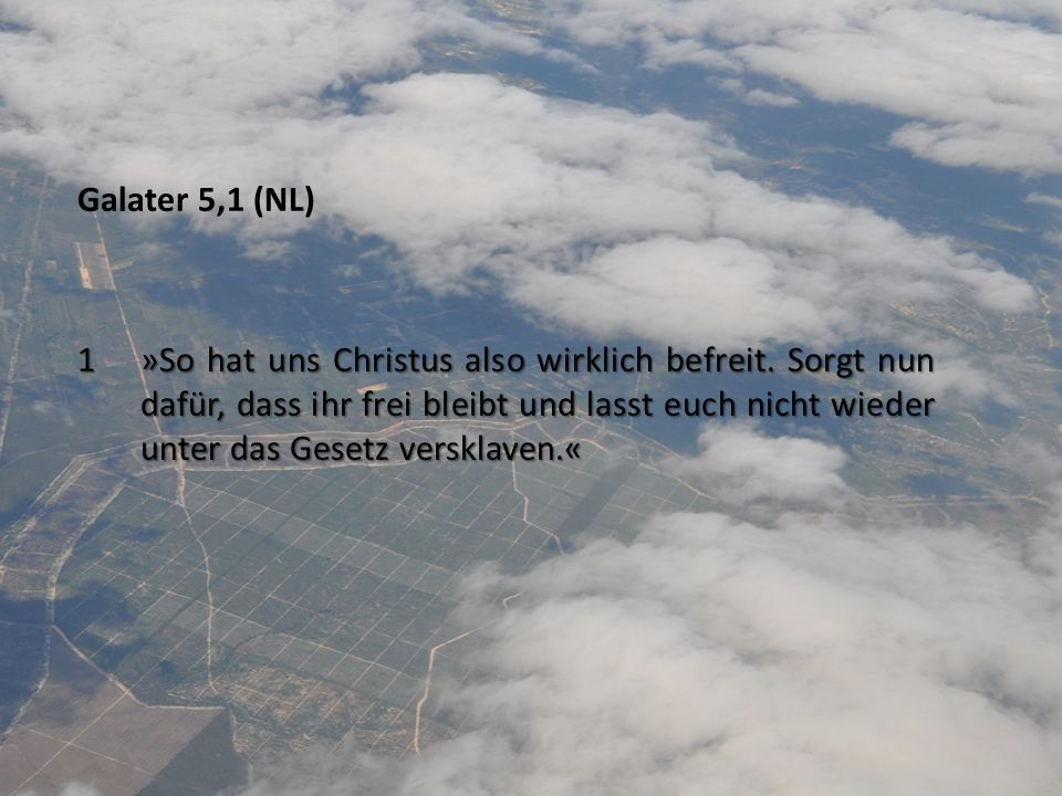 Galater 5,1 (NL)