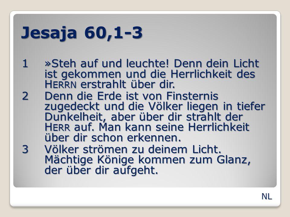 Jesaja 60,1-3