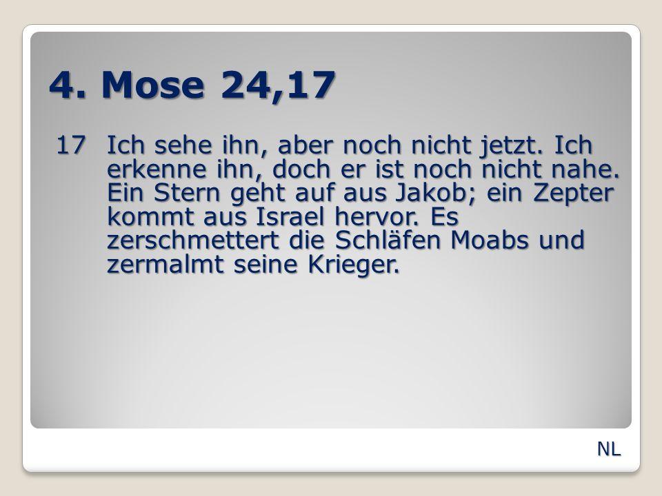 4. Mose 24,17