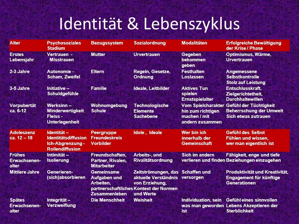 Identität & Lebenszyklus