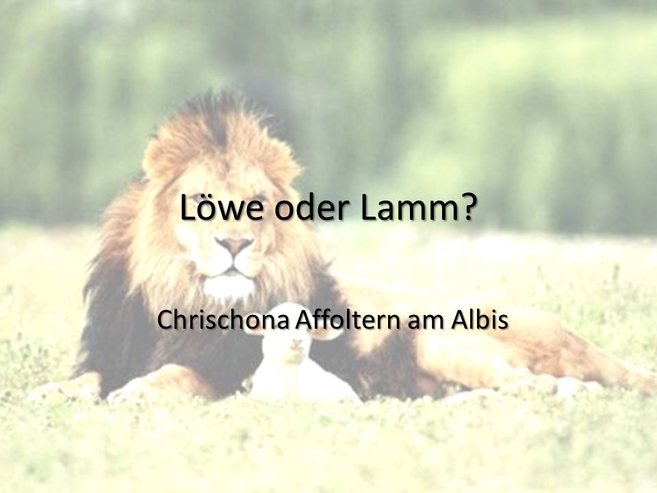 Chrischona Affoltern am Albis
