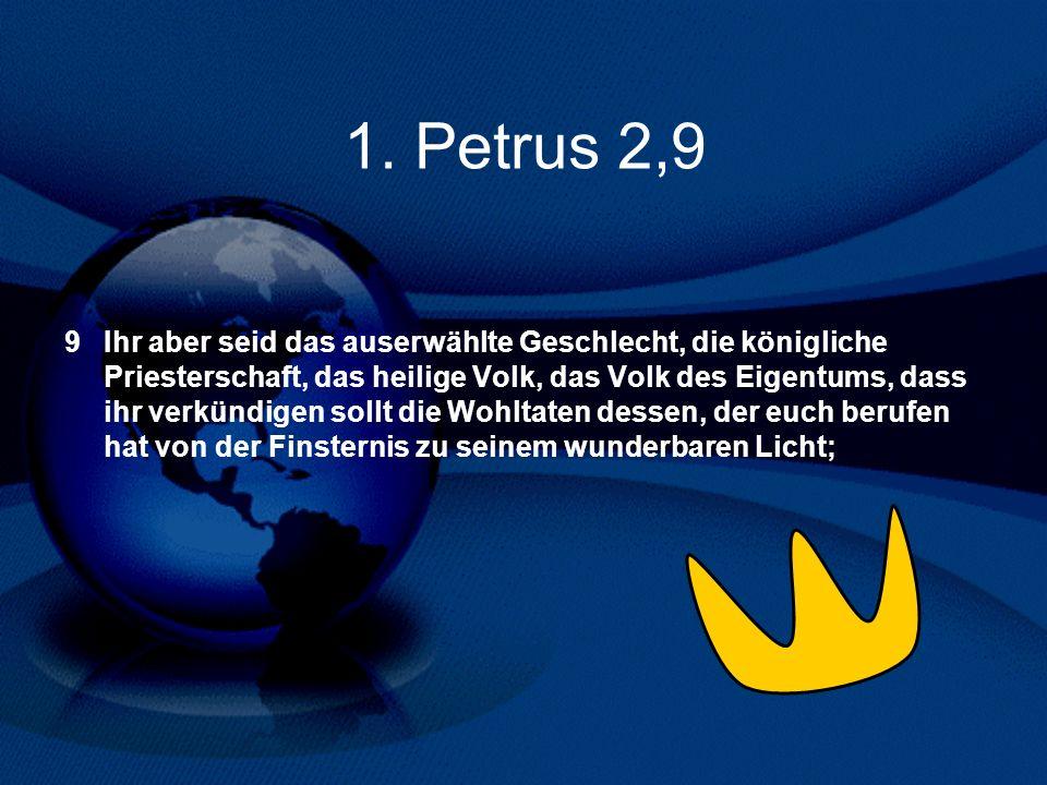 1. Petrus 2,9