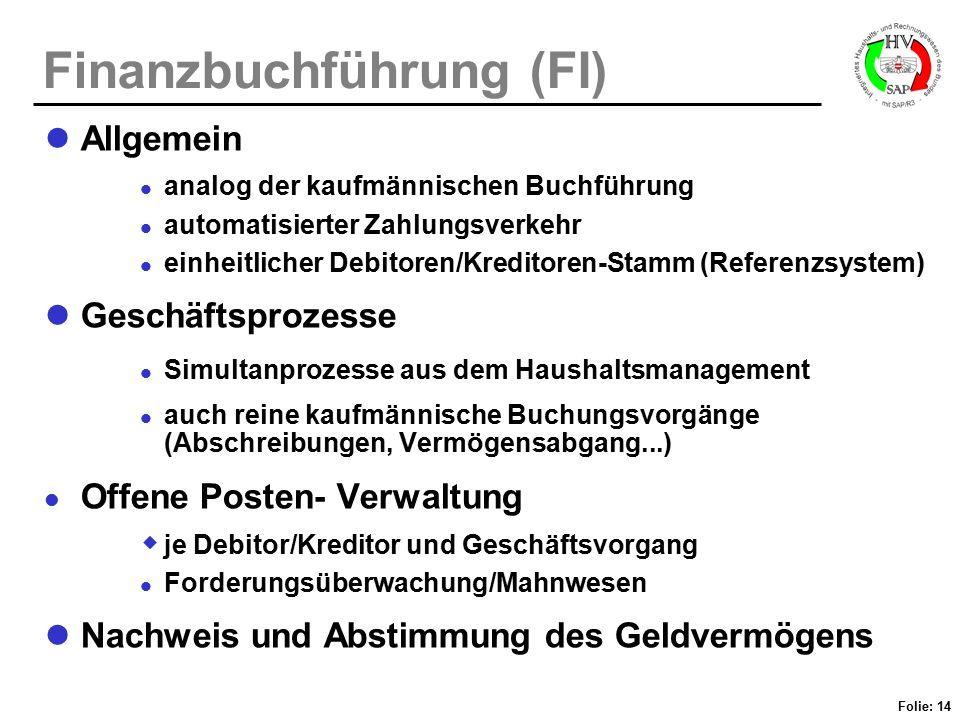 Finanzbuchführung (FI)